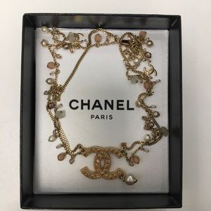 Authentic CHANEL Multi-Strand Gold Necklace